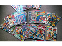 40 US Marvel Iron Man Comics, dating from 1974 to 1981