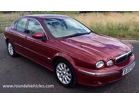 12 MONTHS WARRANTY, LOW MILES! Jaguar X Type x-type xtype 3.0 V6 SE 67k, mot 2017,Continental tyres!