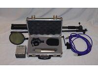 Behringer B-2 Pro Condenser Microphone plus accessories.