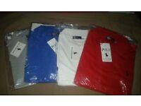 Mens XL Ralph Lauren Polo shirts X4
