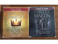 Game of thrones audio books