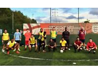 Casual football at Goals Wimbledon. New players needed!