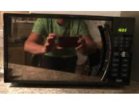 Russell Hobbs RHM1718B Microwave Oven 17 Litre Black Digital