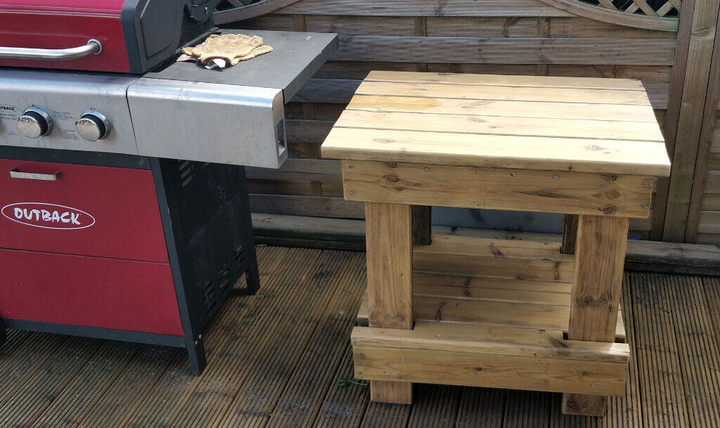 Outdoor Bbq Side Table.Bbq Side Table Accessory Outdoor Table In Horsforth West Yorkshire Gumtree