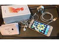 iPhone 6s Rose Gold 128GB in mint condition