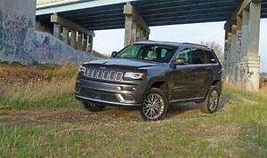 2017 Jeep Grand Cherokee Limited Blind Spot Detection SunRoof