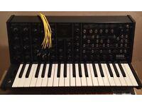 Korg MS 20 Mini monophonic synthesizer