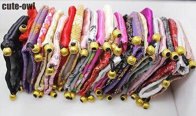 Wholesale 10/20/30/50/100PCS Multicolor Silk Bag Pouch jewelry Gift bag 105*95mm