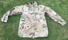 British army lightweight MTP MVP / goretex waterproof jacket