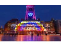 Blackpool illuminations- 3 & 4 NIGHT caravan rental at havens Cala Gran