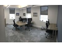 Fully serviced desk space in new shared office in central Bath