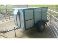 Dog trailer 3 sections