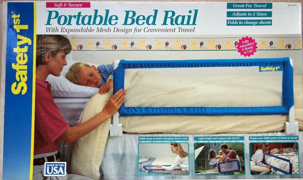 SAFETY 1st Portable Bed Rail With Expandable Mesh Design For Convenient Travel
