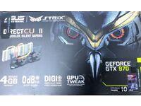 ASUS STRIX GTX 970 NVIDIA GeForce GTX 970 Graphics Card 4GB