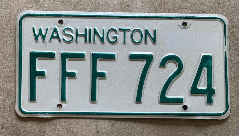 Whatcom County 1968-1982 Washington Passenger Vehicle License Plate YOM Legal