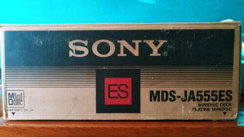 BRAND NEW SONY MDS-JA555ES MINIDISC PLAYER DECK - MADE IN JAPAN