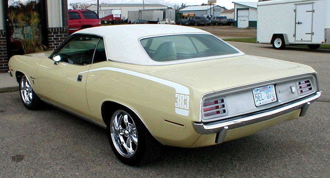 1970 Plymouth Barracuda GRAN COUPE 1970 PLYMOUTH BARRACUDA, GRAN COUPE 383