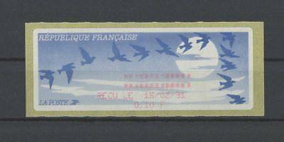 FRANCE ATM AUTOMATENMARKE RECU LE 1991 ** MNH m1124