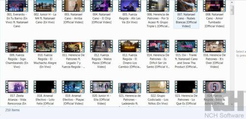 Corridos 2020 - 210 MP4 Music Videos on USB - Fuerza Regida Natanael Cano