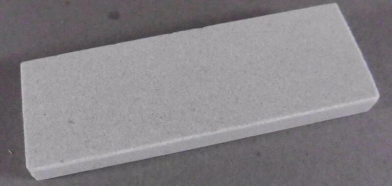 "Hard Arkansas Pocket Stone,Sharpening Stone 3""x 1"" x 1/4"",Ark. Oilstones"