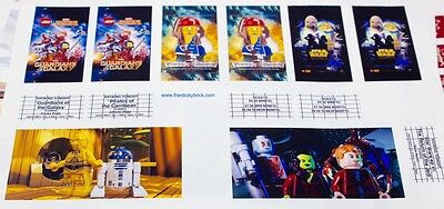 Guardians Of The Galaxy Star Wars (Stickers 4 LEGO 10232 Cinema Theater Guardians of the Galaxy Star Wars)