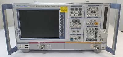 Rohde Schwarz Zvb8 Vector Network Analyzer 2 Ports 300 Khz To 8 Ghz