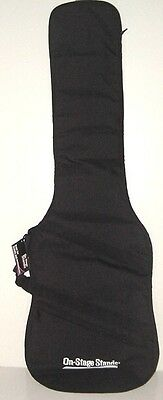 ON-STAGE Cases Lined Electric Bass Guitar Case Gig Bag GBB4550