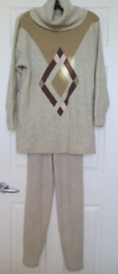 Sweater Angora Wool and Leggings size M