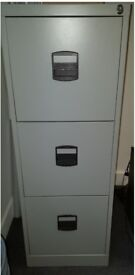 Grey Filling Cabinets