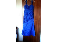 Gorgeous blue size 12 ball gown