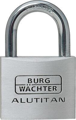 50 x Burg Wächter Zylinderschlösser Alutitan 770/30 Gleichschliessend