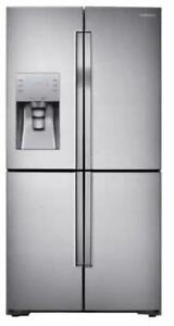 Huge Sale  on LG & Samsung Maytag, kitchen aid French Door Stainless Steel Fridge Up to 40% off
