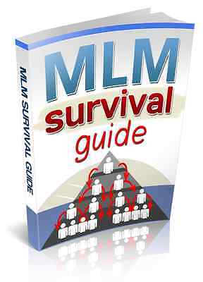 MLM Survival Guide PDF eBook with Full resale rights!