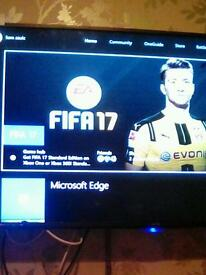 Xbox one 500gb console with fifa 17