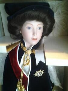 queen elizabeth II franklin heirloom doll
