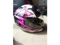 Ladies XXS Motorbike Helmet Excellent condition