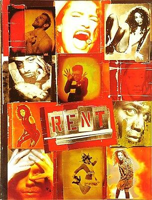 RENT BROADWAY SOUVENIR PROGRAM - IDINA MENZEL