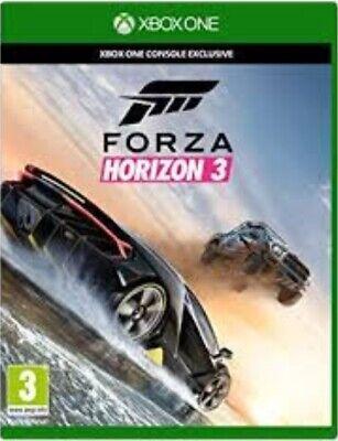 Forza Horizon 3 - Xbox One Game. Case and disc.