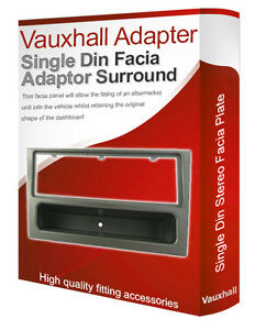 vauxhall corsa c stereo radio facia fascia adapter panel. Black Bedroom Furniture Sets. Home Design Ideas