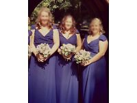 3x designer bridesmaid dresses