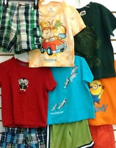 (47A) T-shirts, polos, shorts for boys