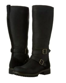 BRAND NEW Waterproof Timberland Ladies Knee High Boots Leather size sz 6.5 UK Womens Shoes
