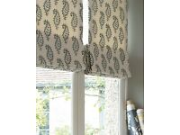 Made to Measure Roman Blinds - beautifully handmade - own fabric