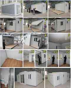 20ft Expanding 3 section fitted out container home  $130 per week Regency Downs Lockyer Valley Preview