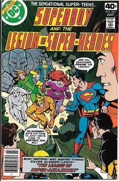 Superboy Comic Book #253 DC Comics 1979 NEAR MINT