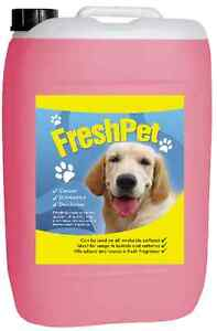 25L BUBBLEGUM PET CATTERY KENNEL DISINFECTANT DEODORISER CLEANER FRESH ODOUR DOG