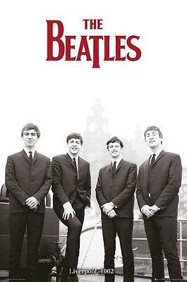 THE BEATLES ~ 1962 LIVERPOOL 24x36 MUSIC POSTER John Lennon Paul George Ringo