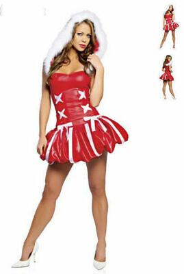 C132 ROMA Santa's Princess Costume SZ M/L