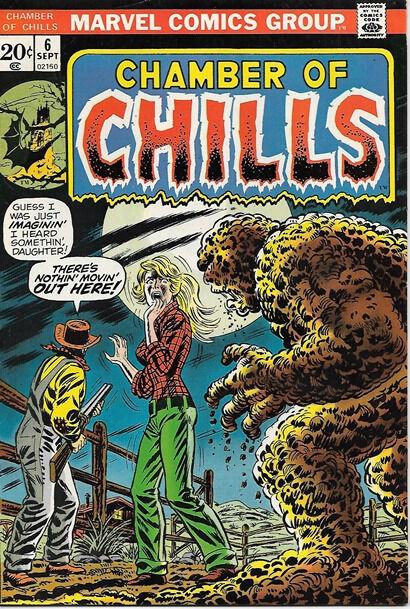 Chamber of Chills Comic Book #6, Marvel Comics 1973 VERY FINE+