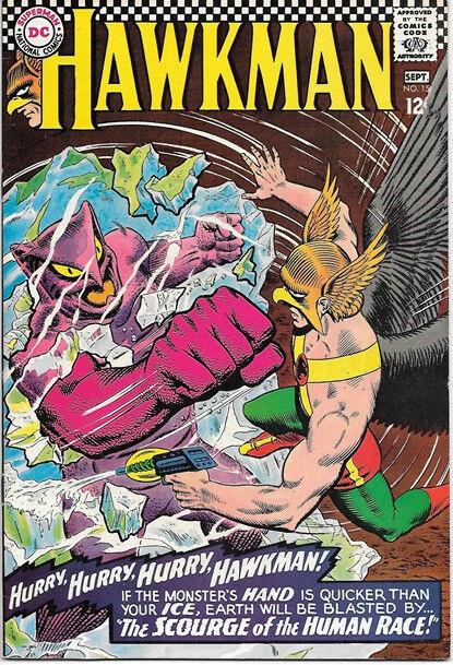 Hawkman Comic Book #15 DC Comics 1966 VERY FINE